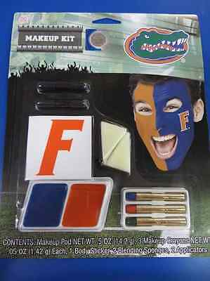 Florida Gators Makeup Kit NCAA Football College Game Day Costume Accessory - College Football Costumes