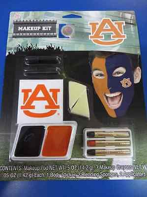 Halloween Costume Makeup Games (Auburn Tigers SEC Makeup Kit NCAA Football College Game Day Costume)