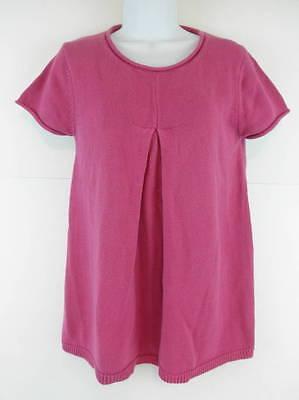 Grace Elements Maternity Sweater Small 100% Cotton Fuchsia SS