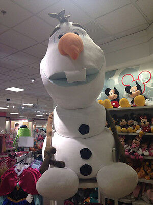 Disney Parks Store JUMBO Olaf 3-Foot Store Display Limited HUGE Stuffed Plush