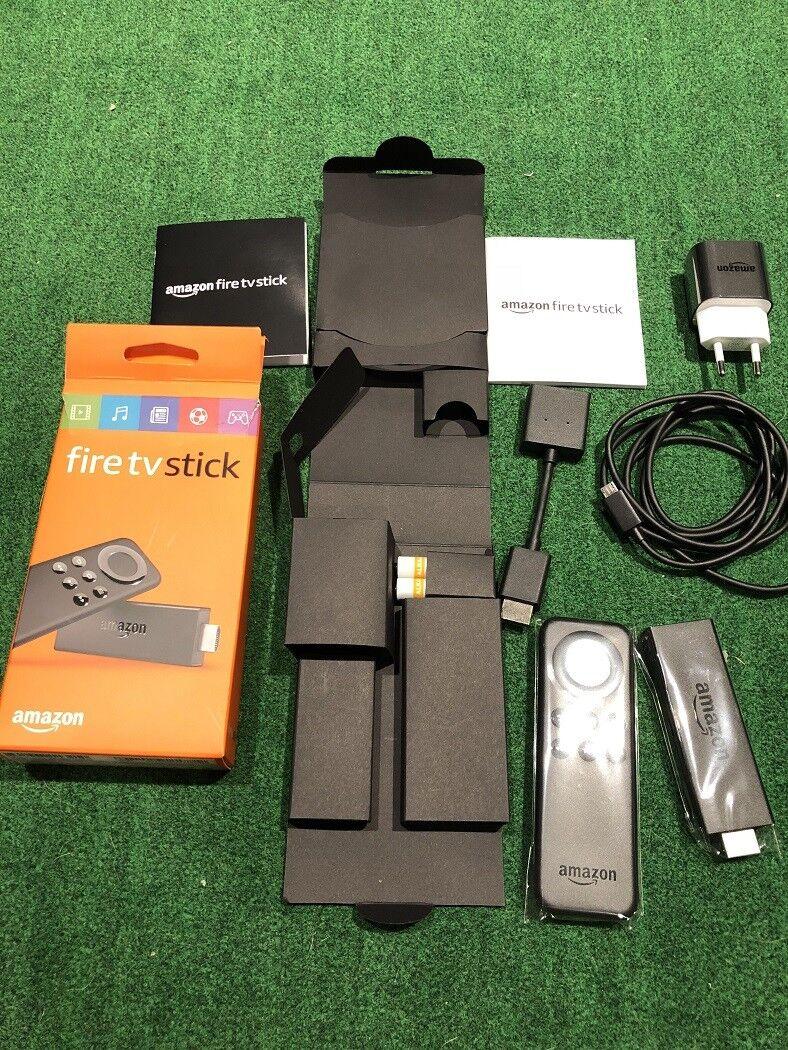 Amazon Fire TV Stick / Basic Edition / New in Box / European plug - Please READ!