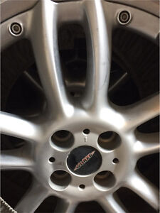 Mini John Cooper Works Rims and Bridgestone Potenza tires