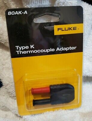 Fluke 80ak-a Type K Thermocouple Adapter