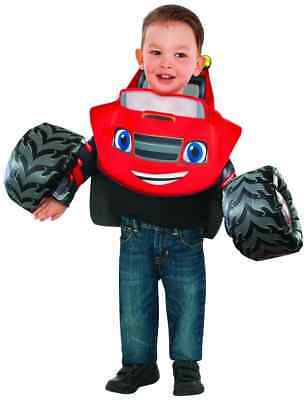 Blaze Monster Machines Truck Nick Jr Fancy Dress Halloween Toddler Child Costume ()