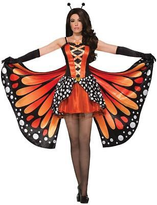 Miss Monarch Butterfly Animal Instincts Fancy Dress Up Halloween Adult - Missing Halloween Animation