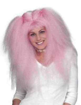 Club Kid Wig Rave Party Girl Crimped Halloween Adult Costume Accessory 2 - Rave Girls Halloween
