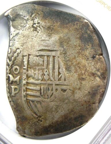 1634-65 Mexico Philip IV Cob 8 Reales Coin (8R) - Certified NGC F15 - Rare!