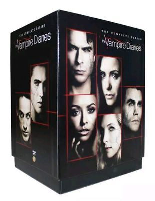 The Vampire Diaries  The Complete Series  Dvd  2017  39 Disc Set