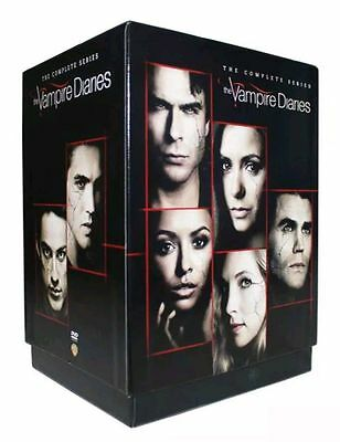 The Vampire Diaries The Complete Series Season 1 8  Dvd  Visa Mc Pay Only