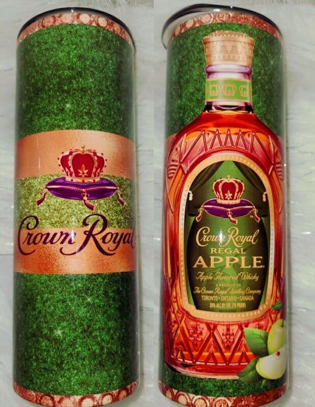 Green Apple Crown Royal Tumbler