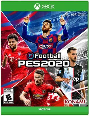 eFOOTBALL PES 2020 (Xbox One, 2019) - Konami - Brand NEW Sealed for sale  Shipping to Nigeria