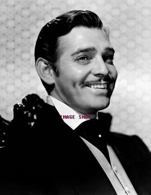 CLARK GABLE 60s 70s Sixties Seventies Poster Wall Print 24 x 36 (inch) 4