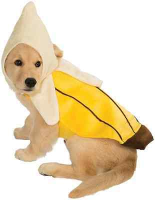 Banana Fruit Food Funny Cute Fancy Dress Up Halloween Pet Dog Cat (Cute Food Kostüm)