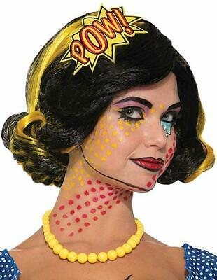 Pop Art Headband 50's Comic Book Retro Fancy Dress Halloween Costume - Comic Book Pop Art Halloween Costumes
