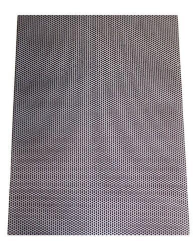 "8"" x 11"" Match Strike Paper Striker Sheet Adhesive Back Dotted Honeycomb Black"