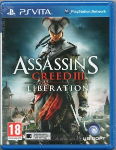 ASSASSINS-CREED-III-LIBERATION-GAME-PS-Vita-Sony-3-assassins-NEW-SEALED