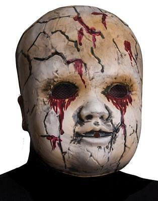 - Scary Doll Face