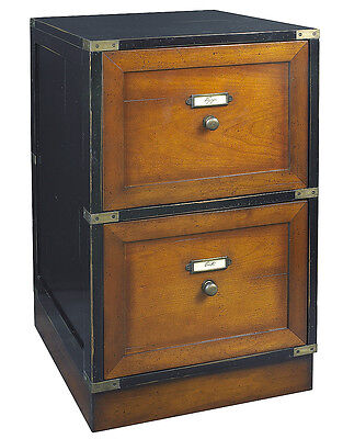 Campaign Files Black Filing Cabinet 28 Authentic Models Nautical Furniture