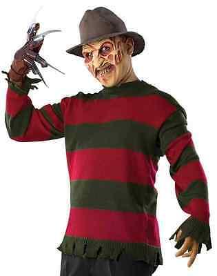 Freddy Krueger Sweater Nightmare Elm Street Halloween Adult Costume Accessory - Halloween Costumes Freddy Krueger