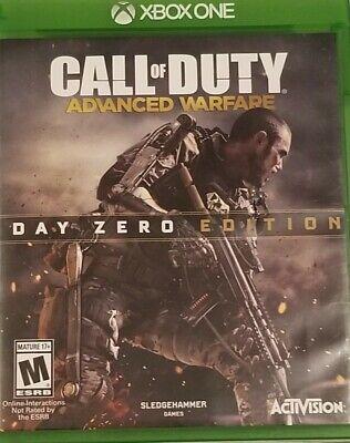 Xbox One Call of Duty Advanced Warfare - Day Zero Edition-Great