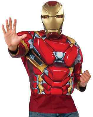 Iron Man Top Captain America Civil War Halloween Deluxe Adult Costume Accessory