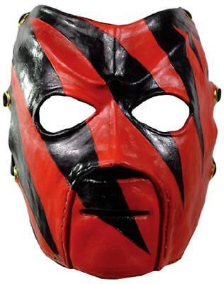 Wwe Fancy Dress Adults (Kane Mask WWE Pro Wrestler Fancy Dress Up Halloween Adult Costume)