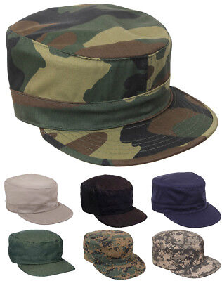 - Fatigue Cap Hat  Adjustable Camouflage Military Patrol Rothco 4544 93469 3441