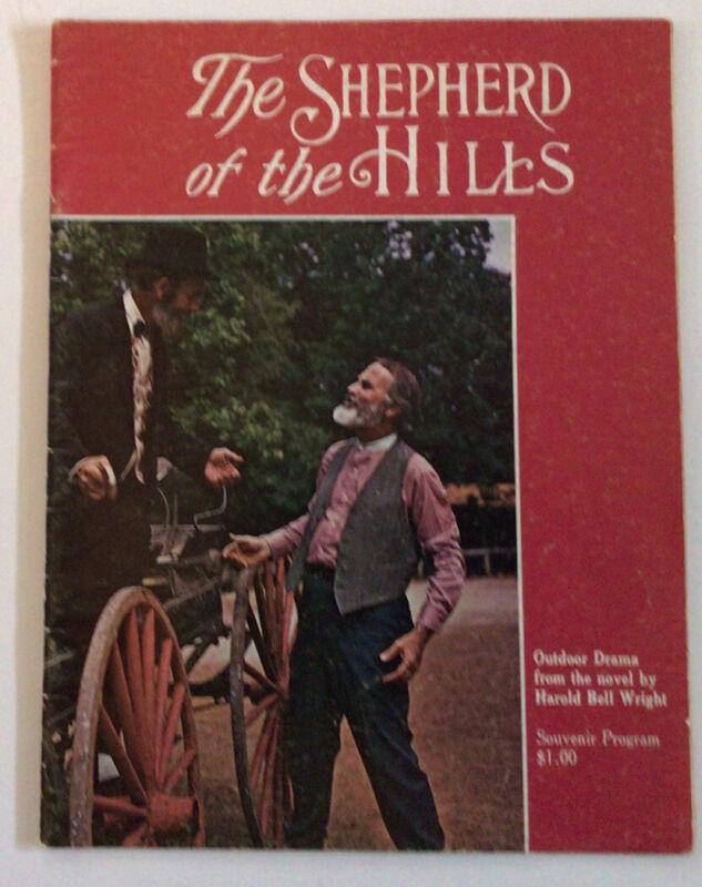 The Shepherd of the Hills souvenir Picture program outdoor drama