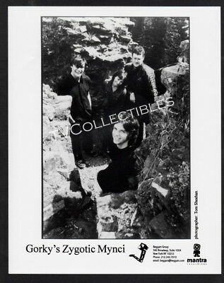 8X10 Photo  Musical Group Gorkys Zygotic Mynci  Mantra Records Promo
