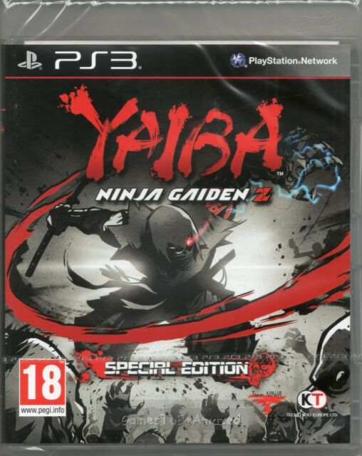 YAIBA: NINJA GAIDEN Z - SPECIAL EDITION GAME PS3 ~ NEW / SEALED