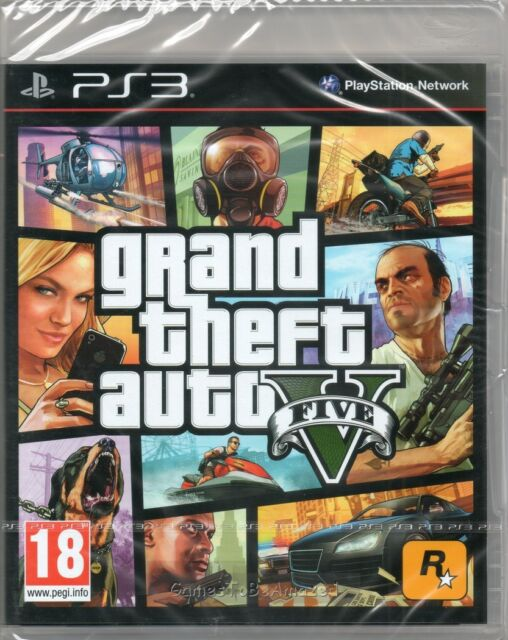 GRAND THEFT AUTO V GAME PS3 (GTA 5) ~ NEW / SEALED