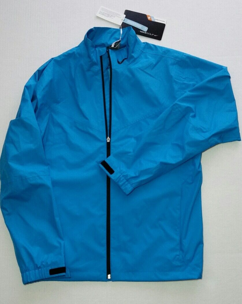 Men Nike Storm Fit Golf Rain Suit 484151 311 Jacket and Pant
