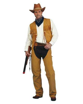 Peter Alan Adult Men's Male Western Cowboy Costume Size Medium](Alan Costume)