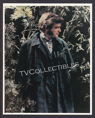 8x10 Photo~ DARK SHADOWS ~1960s TV ~David Selby as Quentin ~Trenchcoat ~Horror