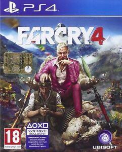 """Far Cry 4 PS4 PLAYSTATION 4 - Italia - L'articolo 55, comma 2, lett. d) del D.Lgs. 206/2005, stabilisce che è esclusa l'applicazione degli articoli sul diritto di recesso nei casi di """"fornitura di prodotti audiovisivi o di software informatici e videogames sigillati, aperti dal - Italia"""