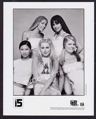 8x10 Photo~ Girl Band i5 ~International Five ~2000 ~Giant Records Promo