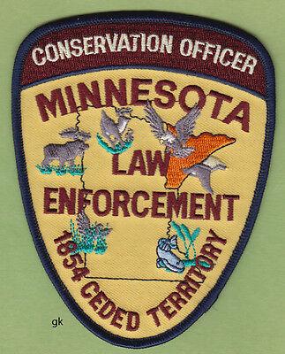 MINNESOTA CONSERVATION OFFICER POLICE SHOULDER PATCH
