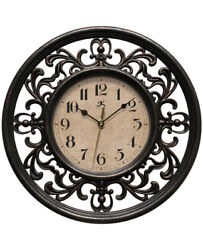 Infinity Instruments Sofia 12 inch Decorative Wall Clock
