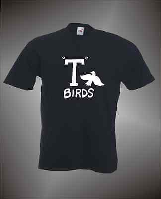 GREASE T BIRDS  -  MENS FUN 1950's THEME T-SHIRT - FANCY DRESS IDEA - S Themed Costume Ideas