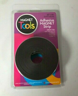 New Dowling Magnets Magnet Tools Adhesive Magnet Strip .50x10