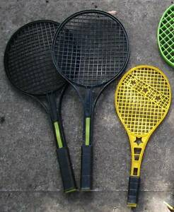 5 X Kids Racquets Campbell North Canberra Preview