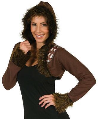 Chewbacca Bolero Star Wars Fancy Dress Up Halloween Adult Costume Accessory (Chewbacca Costume Women)