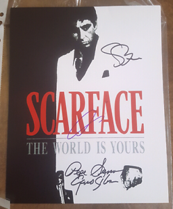 Rare Scarface signed photo Sutherland Sutherland Area Preview