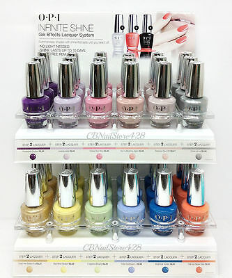 OPI Infinite Shine - Air Dry Nail Lacquer 0.5oz/15mL- Pick Any Color - Series 2 0.5 Ounce Air