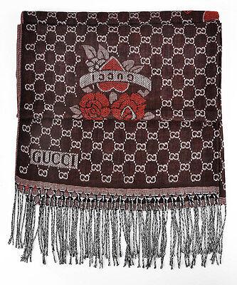 New Women/Girl Fashion Long soft Merino Red Wool Scarf Wrap Shawl Stole Scarves