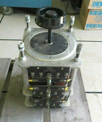 General Radio Corp. W30h Variac 12 Amps 240 Volts 3-tier Variable Transformer