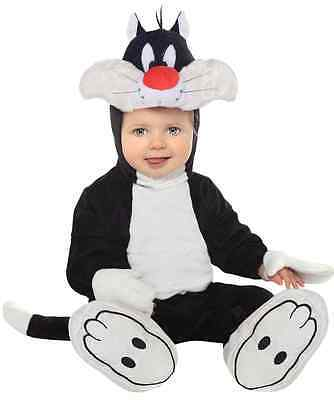 Sylvester Cat Looney Tunes Animal Fancy Dress Up Halloween Baby Child Costume (Sylvester Cat Halloween Costume)