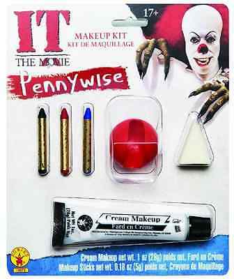 Pennywise Halloween Makeup (Pennywise Makeup Kit It Killer Clown Stephen King Halloween Costume)