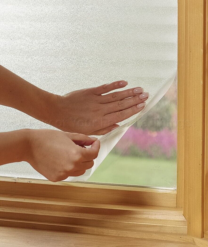 Peel And Stick Privacy Window Film - Blinds