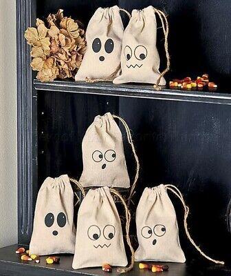 Set Of 6 Treat Bags Halloween Home Decor - Halloween Home Decor